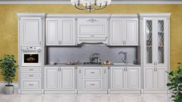 Кухня Аманта серебро 4,6 м.