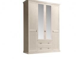Венеция Шкаф 4-х дверный с зеркалом и выдвижными ящиками