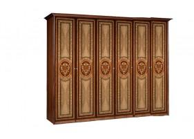 Карина 3 Шкаф 6-ти дверный глухой