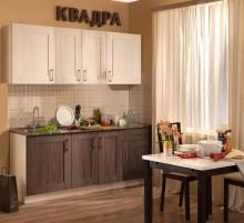 Кухня КВАДРА 2000 метабокс, без плинтуса, без доводчиков