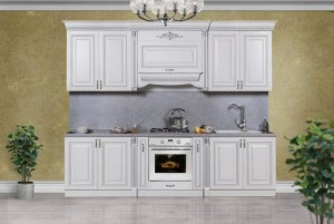 Кухня Аманта серебро 3 м.