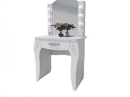 Розалия №12 Стол туалетный + подсветка