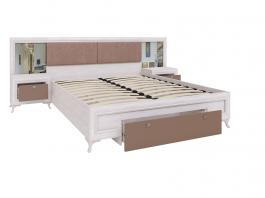 Саванна М06 Кровать с ортопедическим основанием 1600 мм.