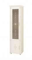 Венеция 32.06 Шкаф-витрина с колоннами (лев/прав)