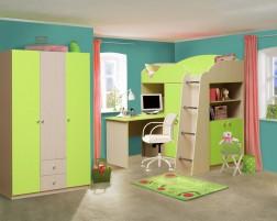 Дельфин-5 Набор мебели для детской
