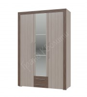 Азалия Шкаф распашной 3-х дверный