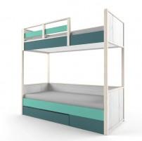 НьюТон Кровать 2х-ярусная с фальшпанелью