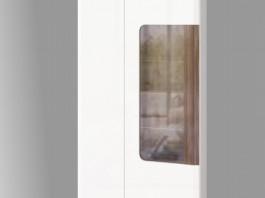 Сиэтл №6 Шкаф комбинированный 2х дверный  (подсветка в комплекте)