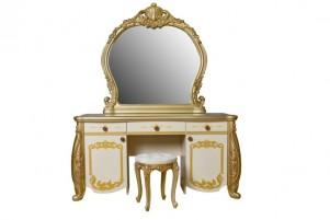 Аделина Туалетный стол, зеркало и пуф