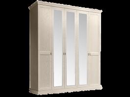 Венеция Шкаф 5-и дверный с зеркалами