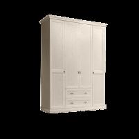 Венеция Шкаф 4-х дверный глухой с выдвижными ящиками