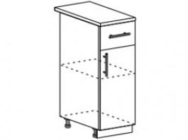 Ксения ШН1Я 300 шкаф нижний с ящиком