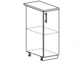 Ксения ШН 300 шкаф нижний