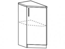 Ксения ШНТ 300 шкаф торцевой (левый /правый)