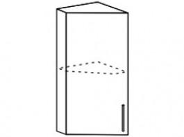 Ксения ШВТ 300 шкаф верхний торцевой